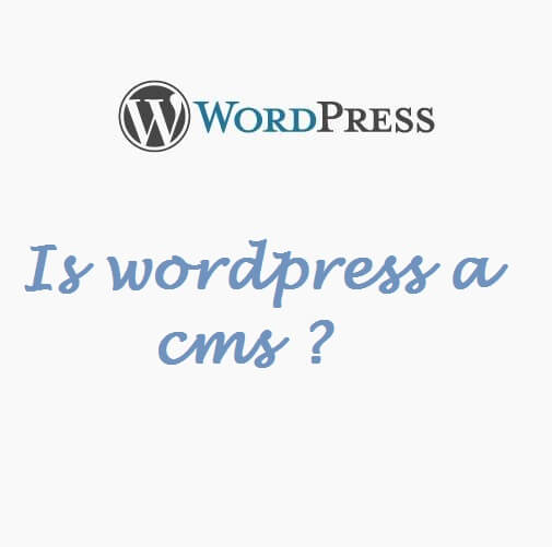 Is WordPress a CMS