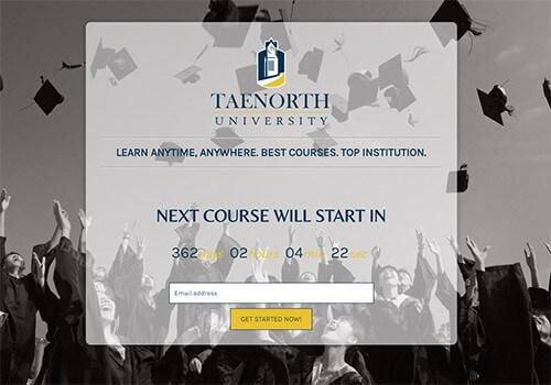 Scholar University Theme - Coming Soon & Maintenance Mode