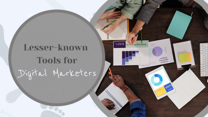 Lesser-known Tools for Digital Marketers